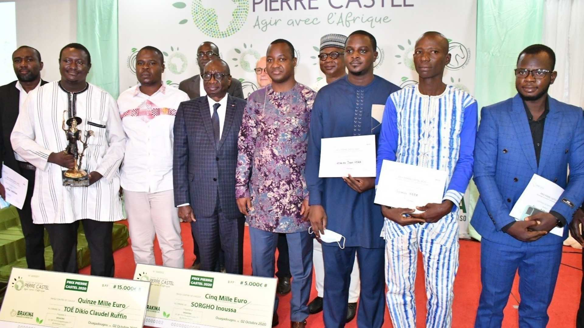 Remise du PPC BF 2020
